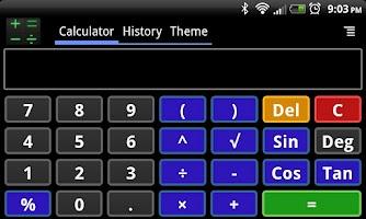 Screenshot of Smart Calculator