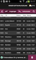 Screenshot of BGO Airport