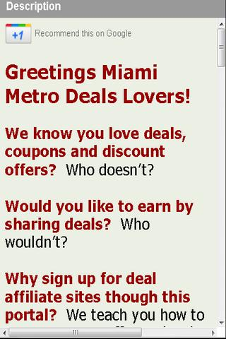 Deals Miami Earn Rewards Cash
