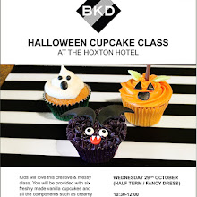 BKD Ghoulish Halloween Cupcake Class @ The Hoxton Hotel
