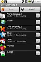 Screenshot of Close Everything 2
