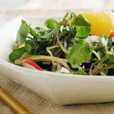 Watercress Salad with Fennel and Citrus