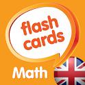 Math flashcards, AMOUNTS icon