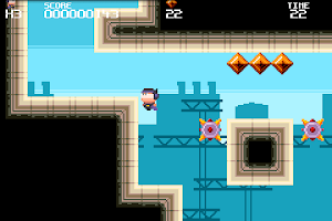 Screenshot of Meganoid FREE
