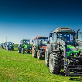 Ploughing competition by Štefan Brajković - News & Events Entertainment ( ploughing, traktori, traktor, traktori u polju, competition )