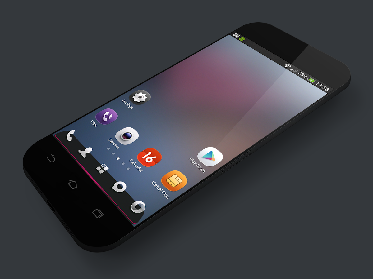 MeeUi HD - ICON PACK Screenshot 0
