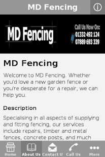 MD Fencing - screenshot