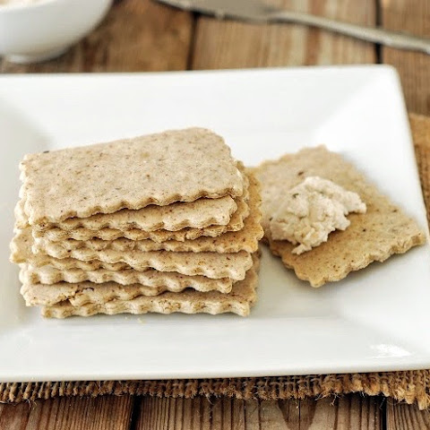 Brown Rice And Flaxseed Crackers