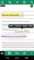 Screenshot of Gaaiho PDF Reader