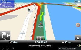 Screenshot of MapFactor: GPS Navigation