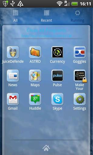 【免費個人化App】GO Launcher Ex Glacial Theme-APP點子