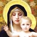 Virgin Mary of the Lilies LWP icon