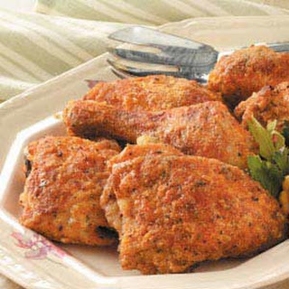 Oven-Fried Chicken Recipe