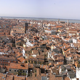 View from Venice Campanile  by Helen Roberts - Novices Only Street & Candid