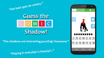 Screenshot of ComicMania: Guess the Shadow