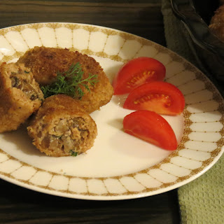 Meatballs with Mushroom filling