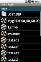 Screenshot of Seaman Video Player Free