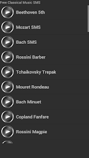 Free Classical Music SMS - screenshot