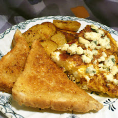 Bacon & Blue Cheese Omelette (Bleu Cheese Omelet)