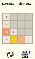 Screenshot of 20 48 Puzzle with mPOINTS
