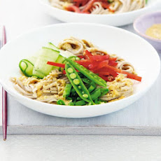Japanese Noodles With Sesame Dressing