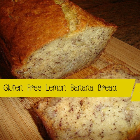 Gluten Free lemon banana bread