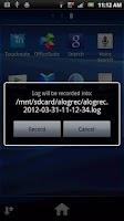 Screenshot of aLogrec (free)