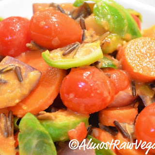 Vegetable & Wild Rice Stir-fry