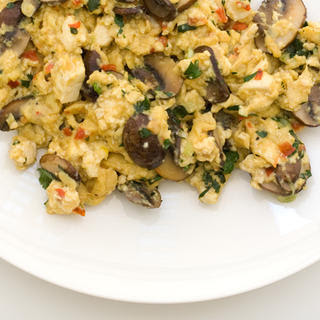 Asian-y Tofu Scramble