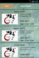 Screenshot of Itacho Sushi