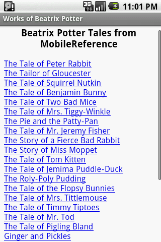 Beatrix Potter Tales