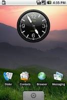 Screenshot of NexTHEME Clock Widget 2x2