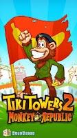 Screenshot of Tiki Towers 2: Monkey Republic