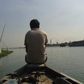Alone by Razib Khan - People Fashion