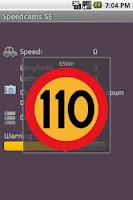 Screenshot of Speedcams-SE