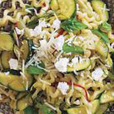 Zucchini-and-Fennel Pasta