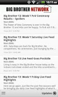 Screenshot of Big Brother Network