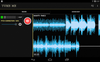 Screenshot of Tune Me