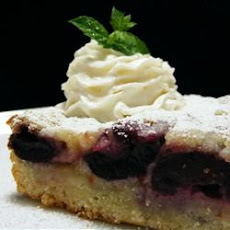 Radio Days Cherry Custard Kuchen