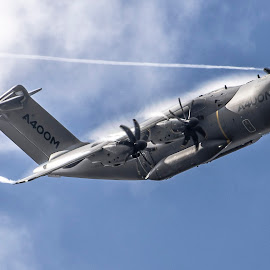 A400M by Vic Powles - Transportation Airplanes ( fairford 2014, a400, fairford, a400m, riat 2014 )