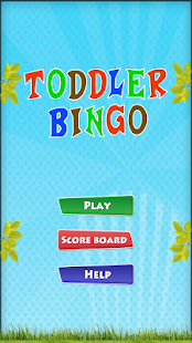 Toddler Bingo Free - screenshot