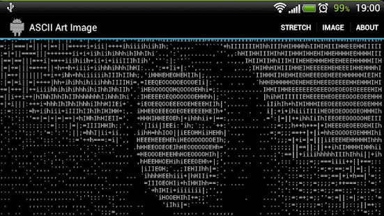 ASCII Art Image - screenshot