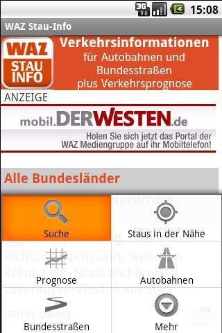 WAZ Stau-Info