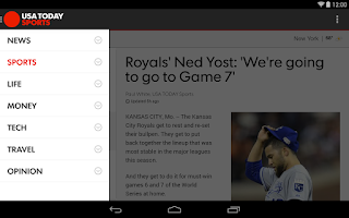 Screenshot of USA TODAY
