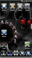 Screenshot of Next Launcher Skull Theme