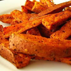 Oven-Roasted Sweet Potato Fries