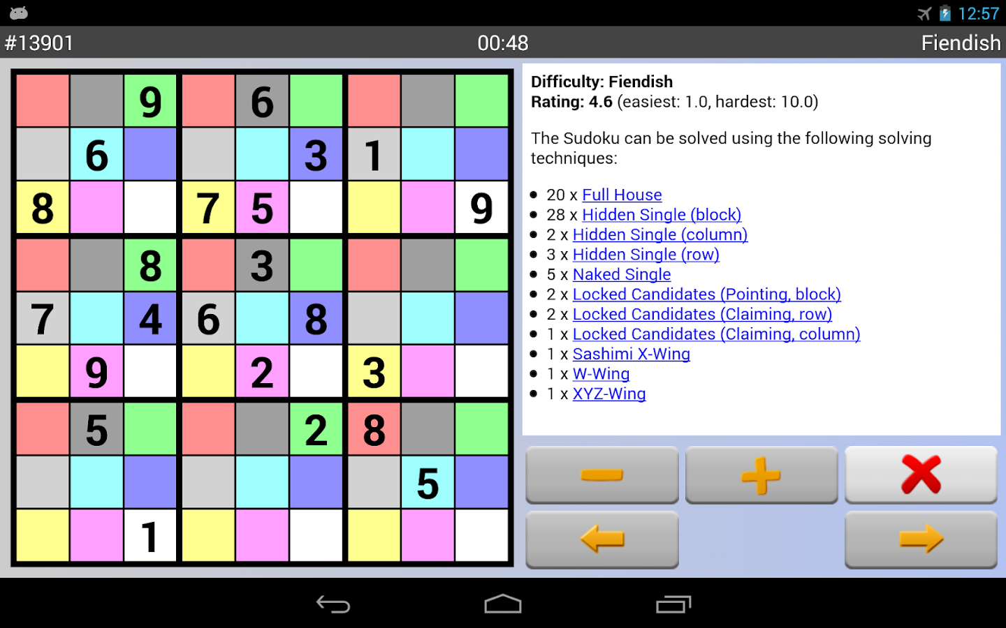Sudoku Grab'n'Play Plus Screenshot 13
