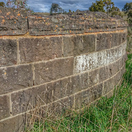Bridge Wall by Feona Green-Puttock - Instagram & Mobile Android ( old, abandonded, bricks., bridge, wall )