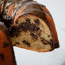 Chocolate Swirl Muffin Cake