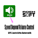 Speed Depend Volume Control icon